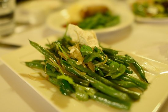 Enzian Hotel On Chamois: Warm Green Bean Salad