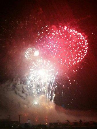 Mohegan Sun Pocono: Labor Day Fireworks Wonderful