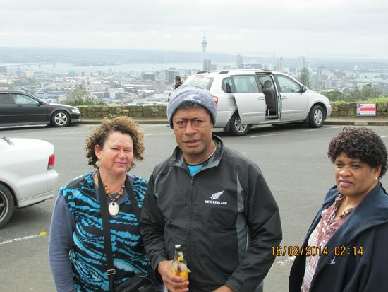 Mount Eden: Roseann, Sepo and Savira, Mt Eden