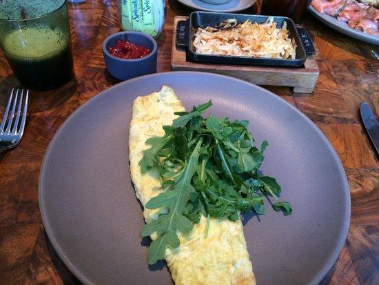 Andaz 5th Avenue: Breakfast - Omelette