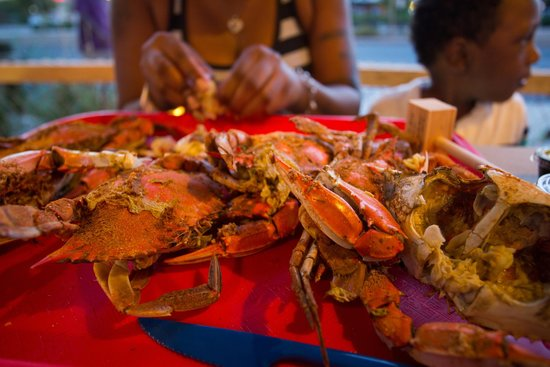 On the Bay Seafood: Crab