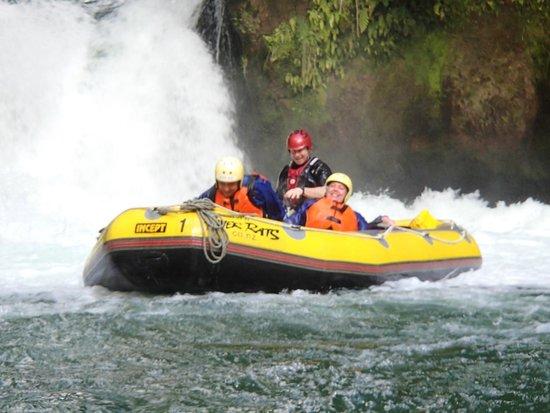 River Rats Raft & Kayak: After the 7m  big drop on Tutea Falls