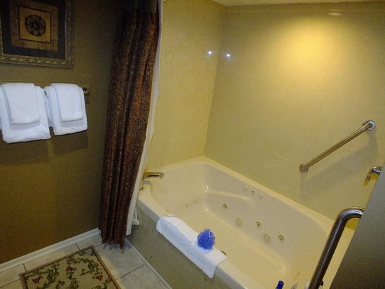 Foxhunt at Sapphire Valley: master bath whirlpool tub