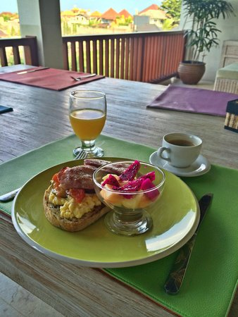 Homestay Bali Starling: Amazing breakfast