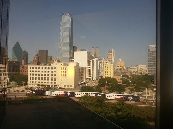 Hyatt Regency Dallas : view from my 6th floor room