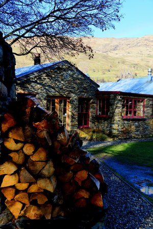 Cardrona Hotel: View from the back