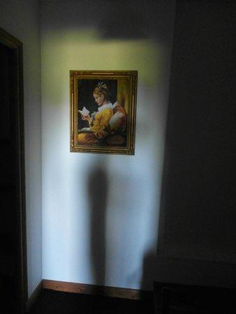 Manoir de la Foulerie : 'La Duchesse' nell'ingresso della camera