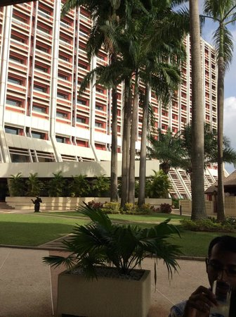 Transcorp Hilton Abuja : An outside view of the Hotel