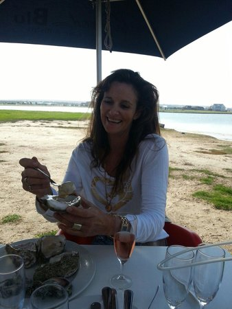 In Food Blu : Best oyster ever. Boat cruise, sunday live muisic and many other happy even
