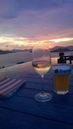 Sri Panwa Phuket Luxury Pool Villa Hotel: Best Sunset ever
