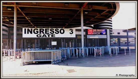 Stadio Giuseppe Meazza (San Siro) : Stadio Giuseppe Meazza