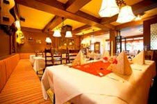 Alpenhotel Ohlstadt : Restaurant
