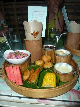 Lilin Lovina Beach Hotel : Dinner at Lilin