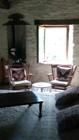 B&B Ca Maranghi: Sitting area