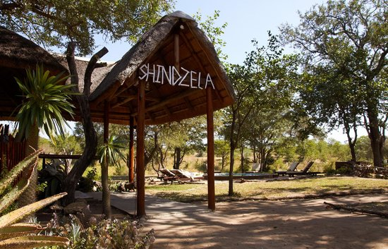 Shindzela Tented Camp: Main entrace to Shindzela