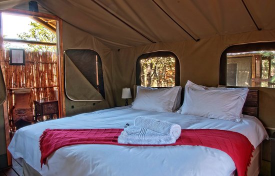 Shindzela Tented Camp: Double Bed Tent