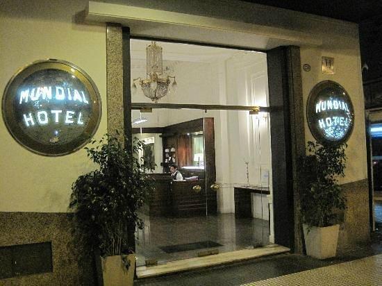 Hotel Mundial : Entrada