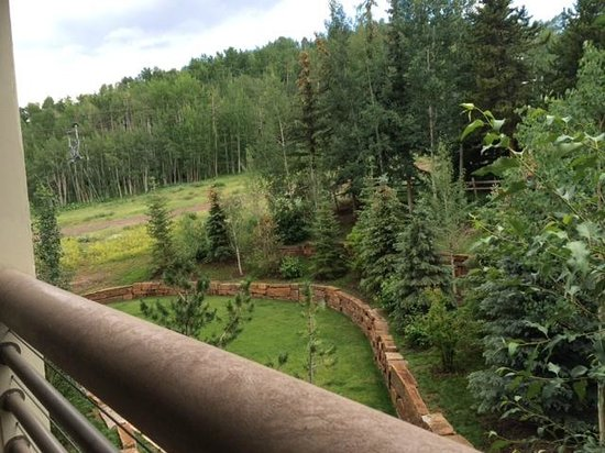 The Westin Snowmass Resort: Garden view from my room