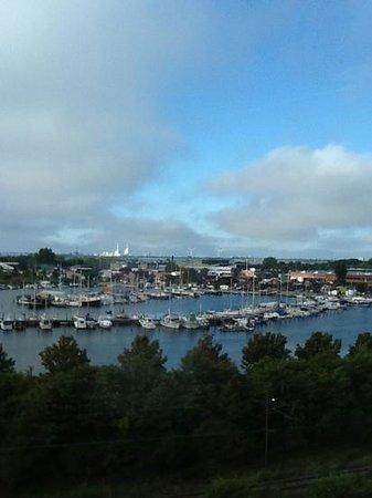 Scandic Sluseholmen : udsigt over havnen fra 5.