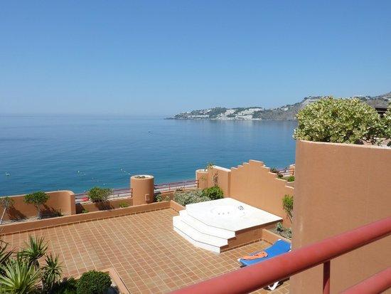 Almunecar Playa Spa Hotel: Terraza de la habitacion