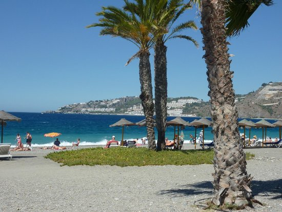 Almunecar Playa Spa Hotel: Zona de playa
