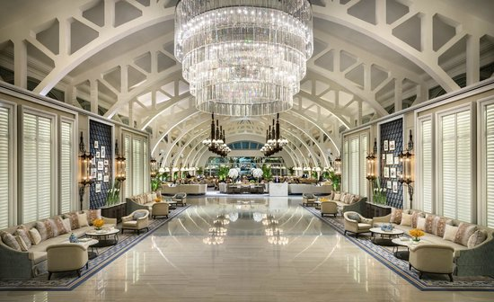 The Fullerton Bay Hotel Singapore: Lobby