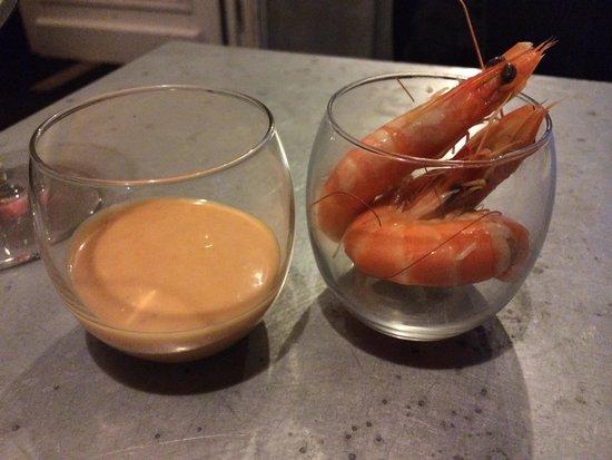 La Guinguette en Ville : Shrimp