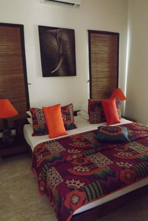 Beach Melati Apartments: One of the bedrooms