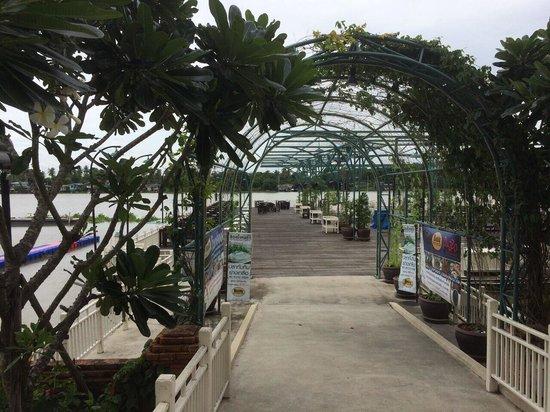 Buddy Oriental Riverside Pakkred: Buddy patio
