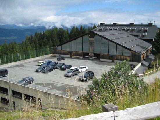 Alpenhotel Marcius: Parkplatz