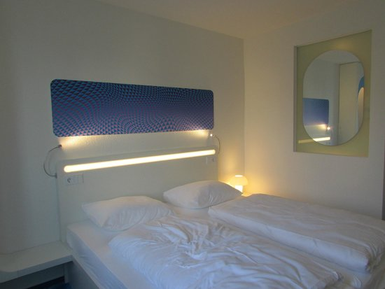 Prizeotel Hamburg-City: Letto