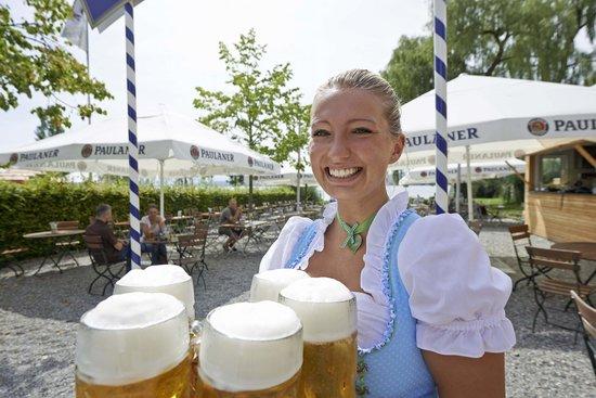 Biergarten Bild Von Bora Hotsparesort Radolfzell Am