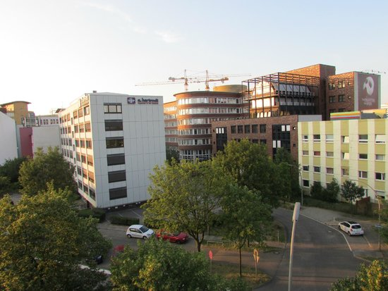 prizeotel Hamburg-City: Vista dalla finestra