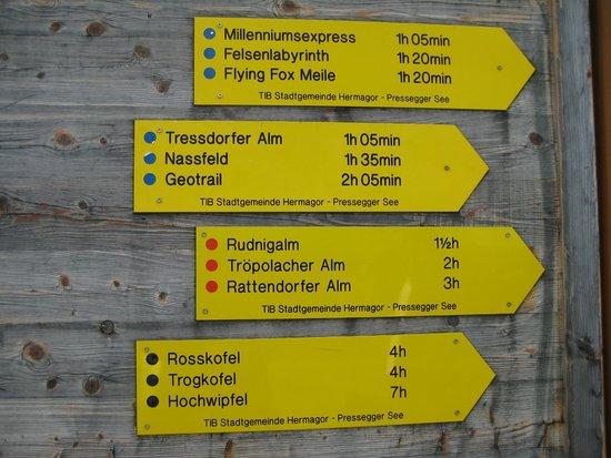 Alpenhotel Marcius: Wander.-Möglichkeiten