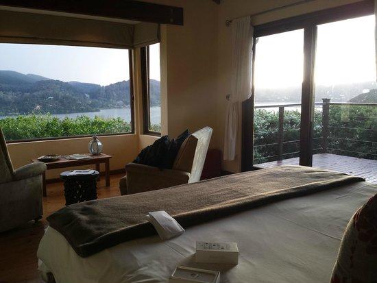 Elephant Hide of Knysna Guest Lodge : Bedroom view