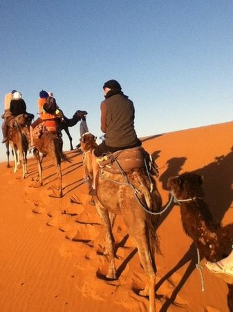 Happy Morocco - Day Trip: the ride to camp