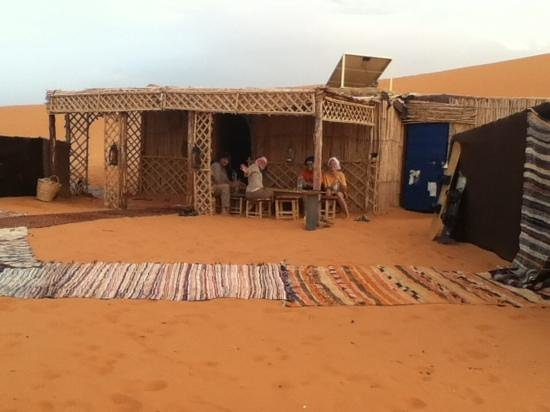 Happy Morocco - Day Trip: the camp lounge