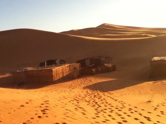 Happy Morocco - Day Trip: camp. rustic but wonderful