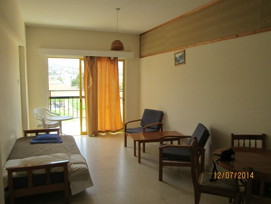 Evalena Beach Hotel Apartments: холл
