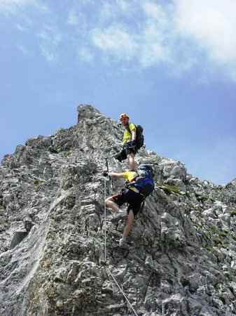 Innsbrucker Nordkettenbahnen: Klettersteigen