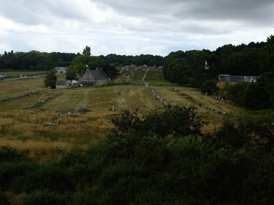 Megaliths of Carnac : alignement