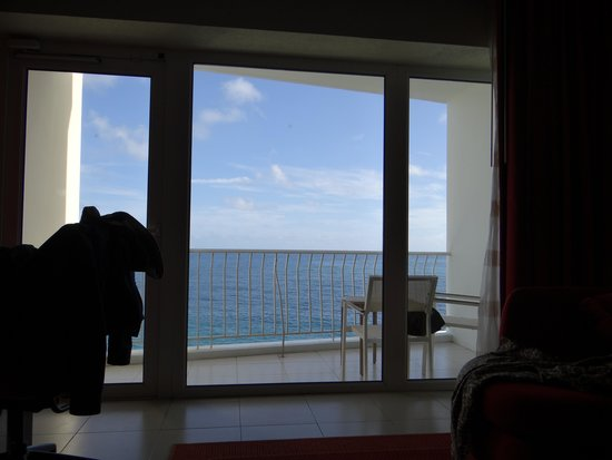 The Condado Plaza Hilton: View from the bed