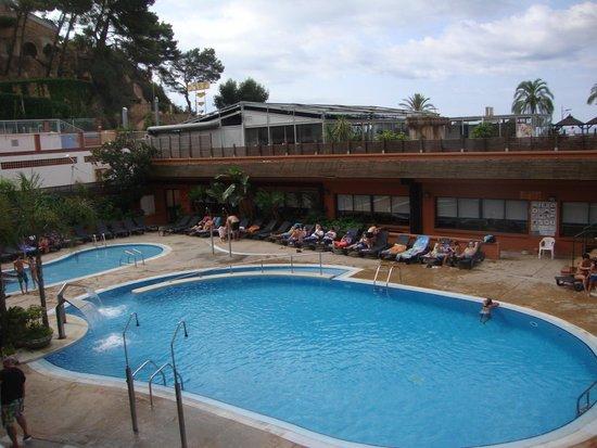 Rosamar & Spa: Sicht von unserem Balkon