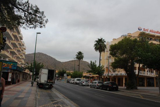 Sol Alcudia Center Apartamentos: вид отеля