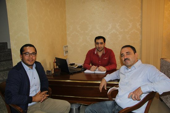 World Heritage Hotel Istanbul: me my frend and hotel owner