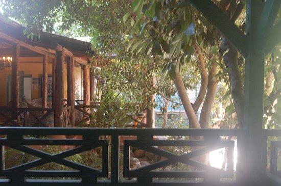 Sultan Beldibi : balcon
