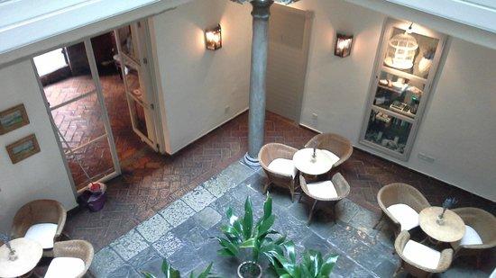 Hotel Palacio de Los Navas: Patio