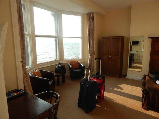 ذي جلينجاور هوتل: Room with sea views
