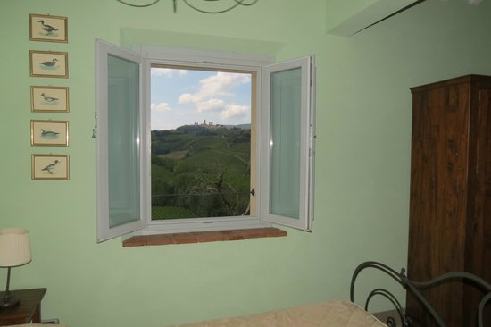 Agriturismo La Lucciolaia: view from bedroom window