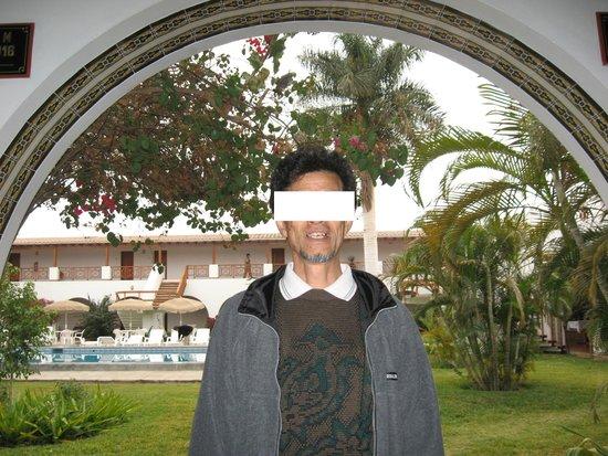 DM Hoteles Nasca: 緑豊かな中庭が素敵でした